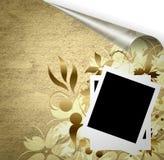 Scrapbook template Royalty Free Stock Photo