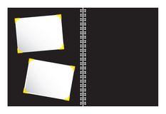 Free Scrapbook With Photo Illustration Vector Royalty Free Stock Photos - 3686408