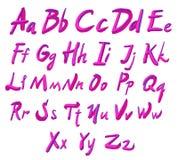scrapbooking向量的字母表要素 拉长的现有量信函 信件  皇族释放例证