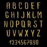 scrapbooking向量的字母表要素 免版税库存照片