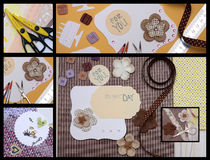 Scrapbooking vector illustration