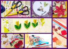 Scrapbooking Royalty Free Stock Image
