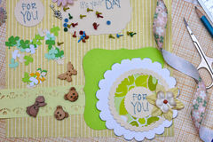Scrapbooking Royalty Free Stock Photo