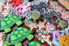 Scrapbooking Accessories stock images