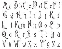 Free Scrapbooking Alphabet Cobweb Halloween Design Royalty Free Stock Photo - 47227325