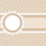 Scrapbooking card Royalty Free Stock Images