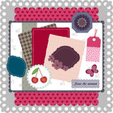 Scrapbooking collection Royalty Free Stock Photography