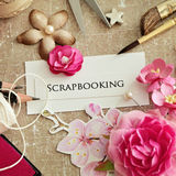 Scrapbooking elements Royalty Free Stock Photos