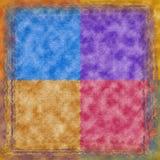 Scrapbooking/grafische Auslegung-Hintergrund Lizenzfreie Stockbilder