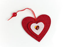 Scrapbooking heart. Royalty Free Stock Photo