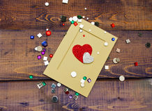 Scrapbooking kit Royalty Free Stock Images