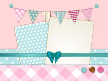 Scrapbooking layout 2 Royalty Free Stock Images