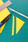 Scrapbooking material Royalty Free Stock Photo