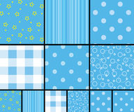 Scrapbooking patterns Stock Image