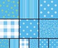 Scrapbooking patterns Stock Image