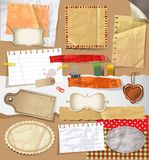 Scrapbooking set. Royalty Free Stock Photography