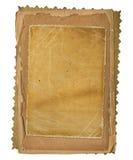 设计scrapbooking样式的grunge纸张 免版税库存照片
