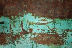 Scrape rusty iron Royalty Free Stock Images