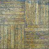 Scraped wooden floor Royalty Free Stock Photos