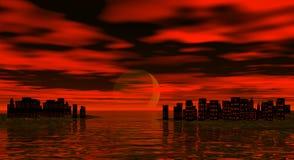 scrapers sky Στοκ Εικόνες