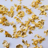 Scrapes of gold Royalty Free Stock Image