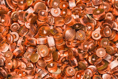 Scrapheap of copper Royalty Free Stock Photography