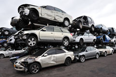 Scrappage program Obrazy Stock
