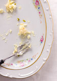 Scraps of food - leftovers Royalty Free Stock Photography