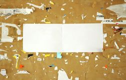 Scraps paper Royalty Free Stock Photos