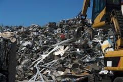 scrapyard视图 免版税库存照片