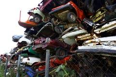 scrapyard Royaltyfri Foto