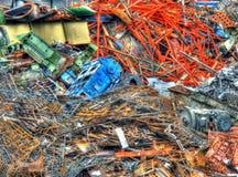 Scrapyard stockfotos