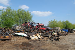Scrapyard Royalty Free Stock Image