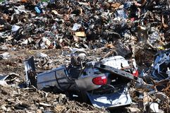 Scrapyard Stock Photo