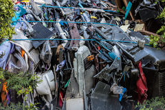Scrapyard Stock Photography