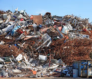 scrapyard Obrazy Stock