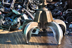 Scrapyard Royalty Free Stock Images