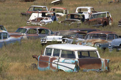 Scrapyard Stock Photos