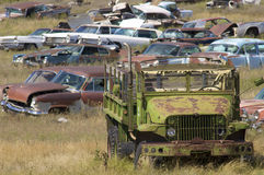 Scrapyard Stock Images