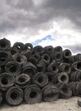 Scrapyard background Royalty Free Stock Photos