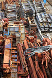 Scrapyard of building material Stock Photography