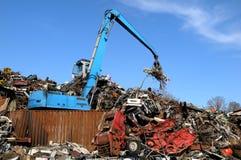 Scrapyard due Fotografie Stock