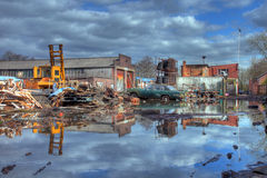 Scrapyard, England Royalty Free Stock Photos