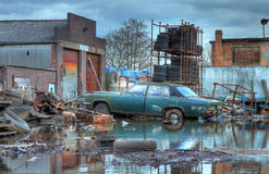 Scrapyard, England Royalty Free Stock Photography