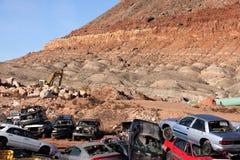 scrapyard junkyard Стоковая Фотография RF