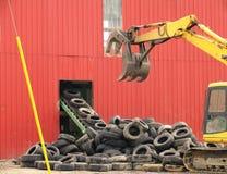 Scrapyard scenery Stock Images