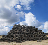 Scrapyard scenery Royalty Free Stock Image