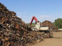 Scrapyard Szene Lizenzfreies Stockfoto