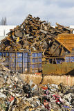 Scrapyard view Stock Images
