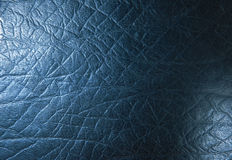 Scratch black leather texture Stock Photo